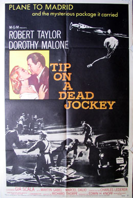 TIP ON A DEAD JOCKEY @ FilmPosters.com