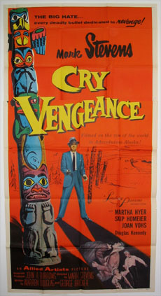 CRY VENGEANCE @ FilmPosters.com