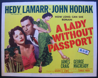 LADY WITHOUT A PASSPORT @ FilmPosters.com