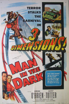 MAN IN THE DARK @ FilmPosters.com