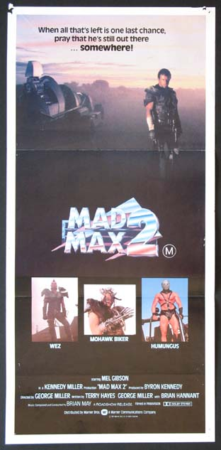 MAD MAX 2 (aka The Road Warrior) @ FilmPosters.com