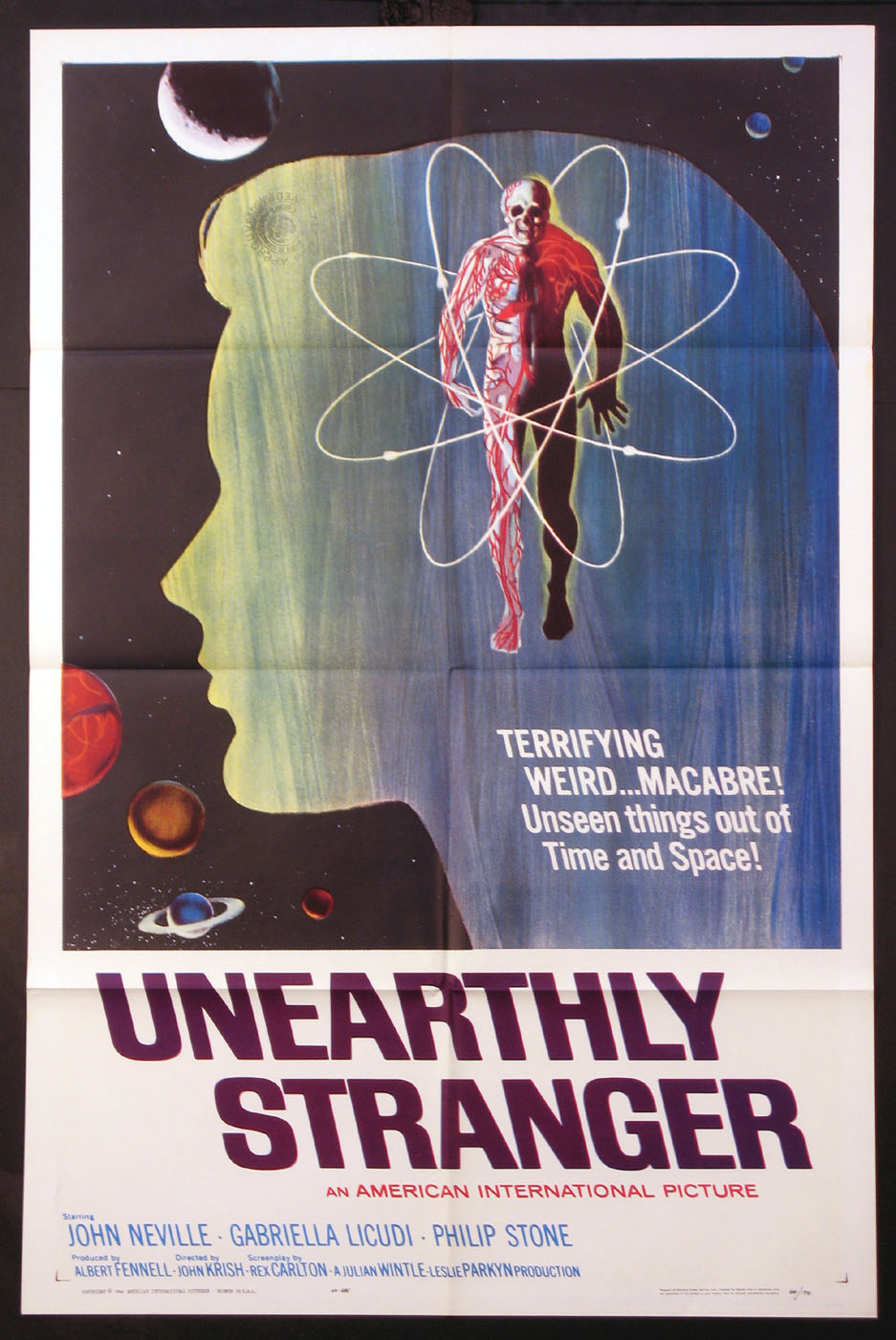 UNEARTHLY STRANGER @ FilmPosters.com