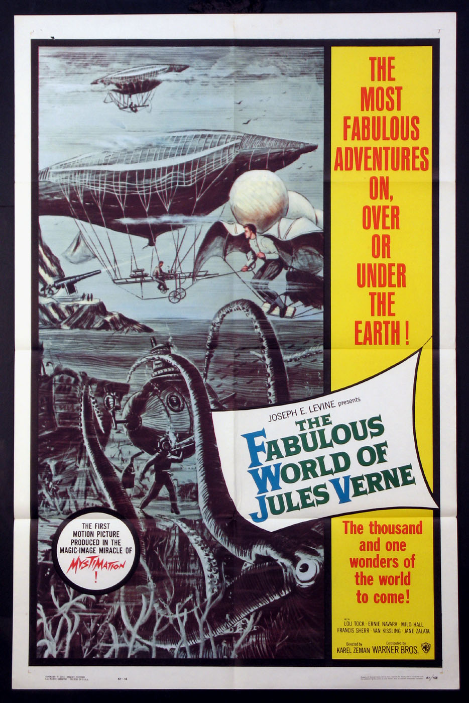 FABULOUS WORLD OF JULES VERNE @ FilmPosters.com
