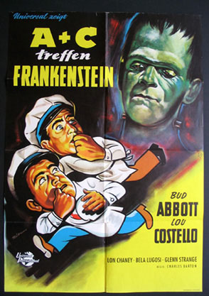ABBOTT AND COSTELLO MEET FRANKENSTEIN @ FilmPosters.com