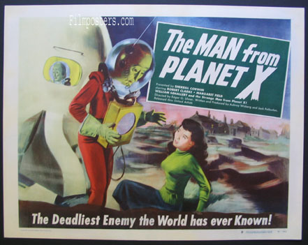 MAN FROM PLANET X @ FilmPosters.com