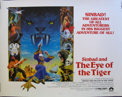 SINBAD AND THE EYE OF THE TIGER @ FilmPosters.com