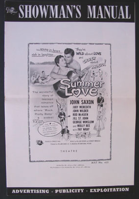 SUMMER LOVE @ FilmPosters.com