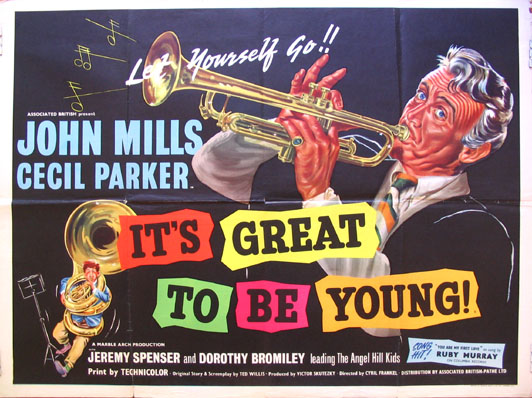 IT'S GREAT TO BE YOUNG @ FilmPosters.com