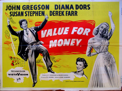 VALUE FOR MONEY @ FilmPosters.com