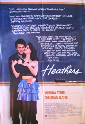HEATHERS @ FilmPosters.com