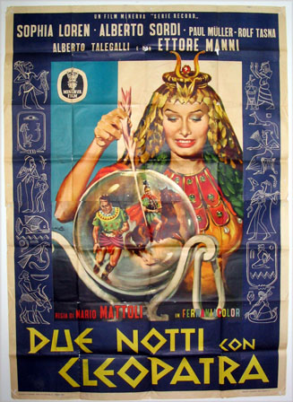 TWO NIGHTS WITH CLEOPATRA (Due Notti con Cleopatra) @ FilmPosters.com