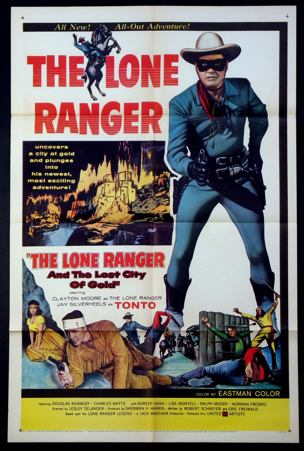 LONE RANGER AND THE LOST CITY OF GOLD @ FilmPosters.com