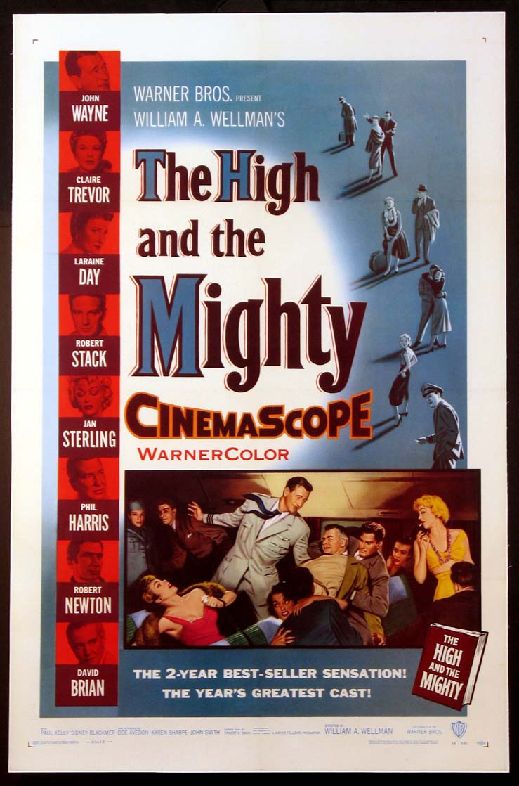 HIGH AND THE MIGHTY, THE @ FilmPosters.com