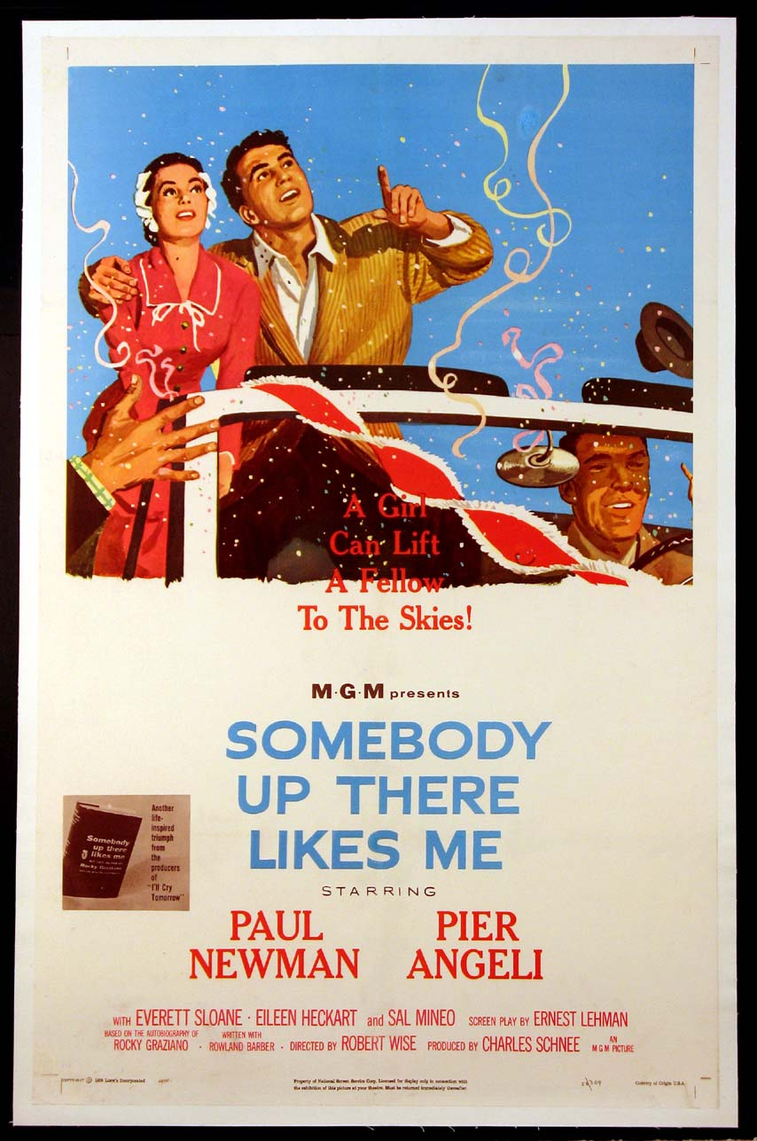 SOMEBODY UP THERE LIKES ME @ FilmPosters.com