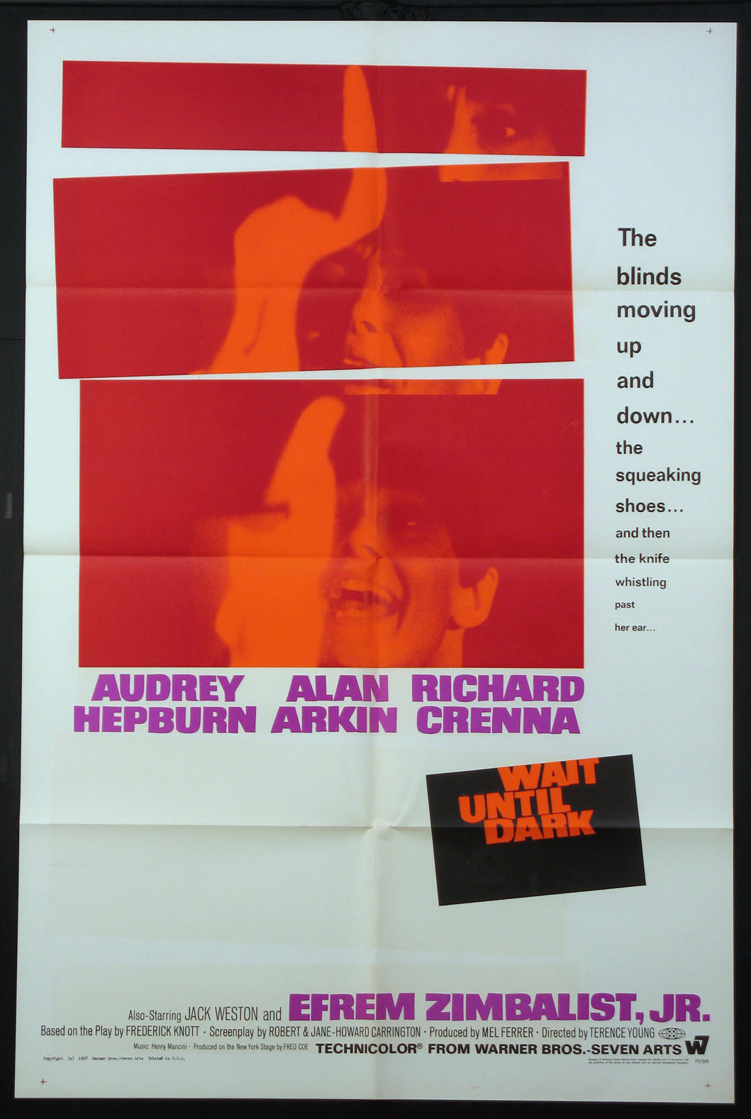 WAIT UNTIL DARK @ FilmPosters.com