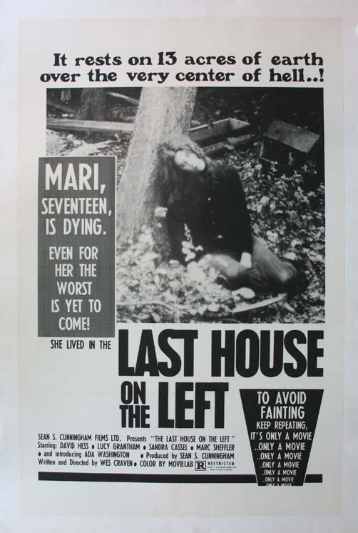 LAST HOUSE ON THE LEFT, THE @ FilmPosters.com