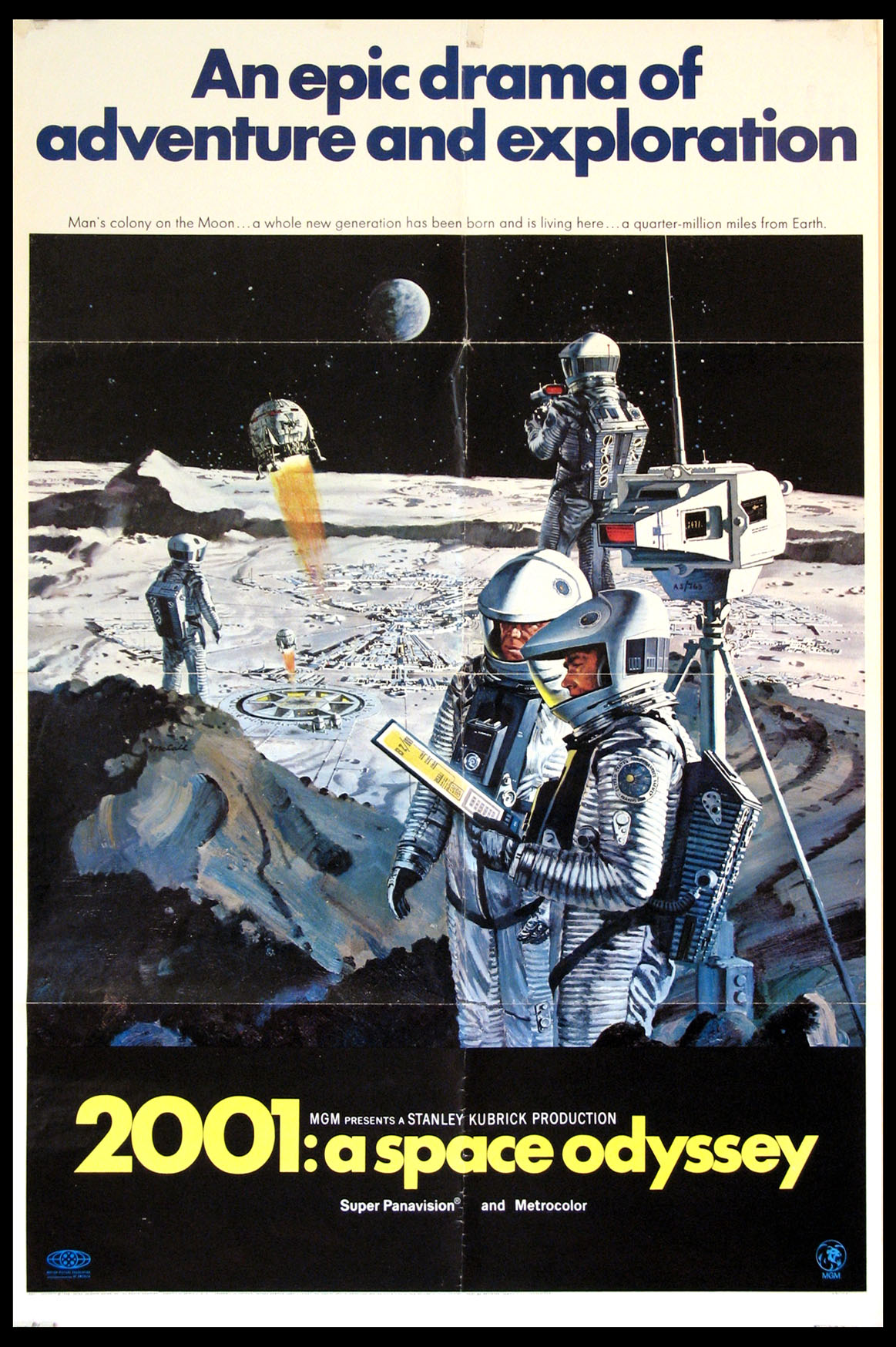 2001: A SPACE ODYSSEY (Two Thousand and One) @ FilmPosters.com