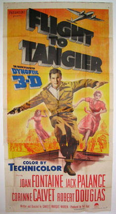 FLIGHT TO TANGIER @ FilmPosters.com