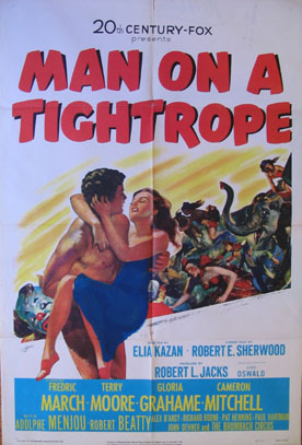 MAN ON A TIGHTROPE @ FilmPosters.com