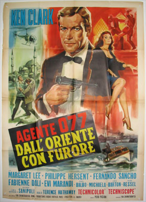 AGENT 077 FROM THE ORIENT WITH FURY (Agente 077 dall' Oriente con Furore) @ FilmPosters.com