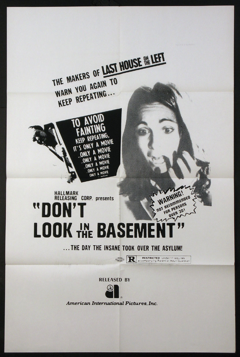DON'T LOOK IN THE BASEMENT @ FilmPosters.com