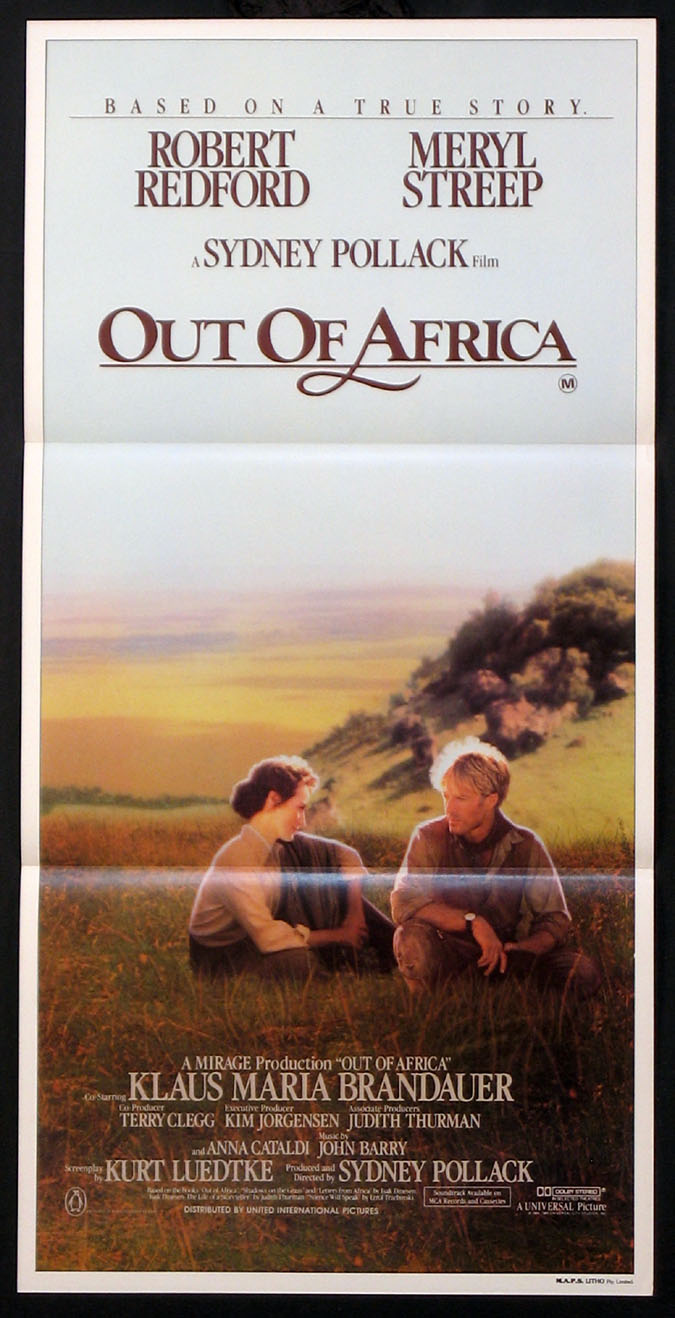 OUT OF AFRICA @ FilmPosters.com