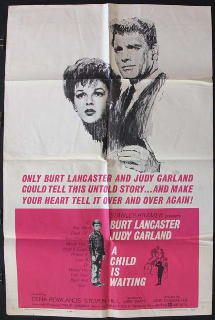 CHILD IS WAITING, A @ FilmPosters.com