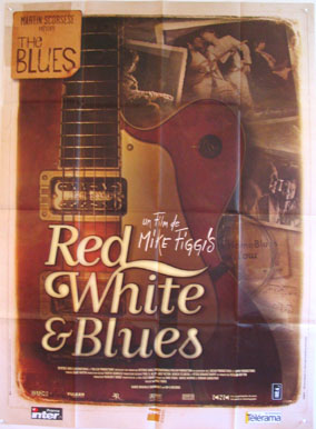 THE BLUES: RED WHITE AND BLUES @ FilmPosters.com
