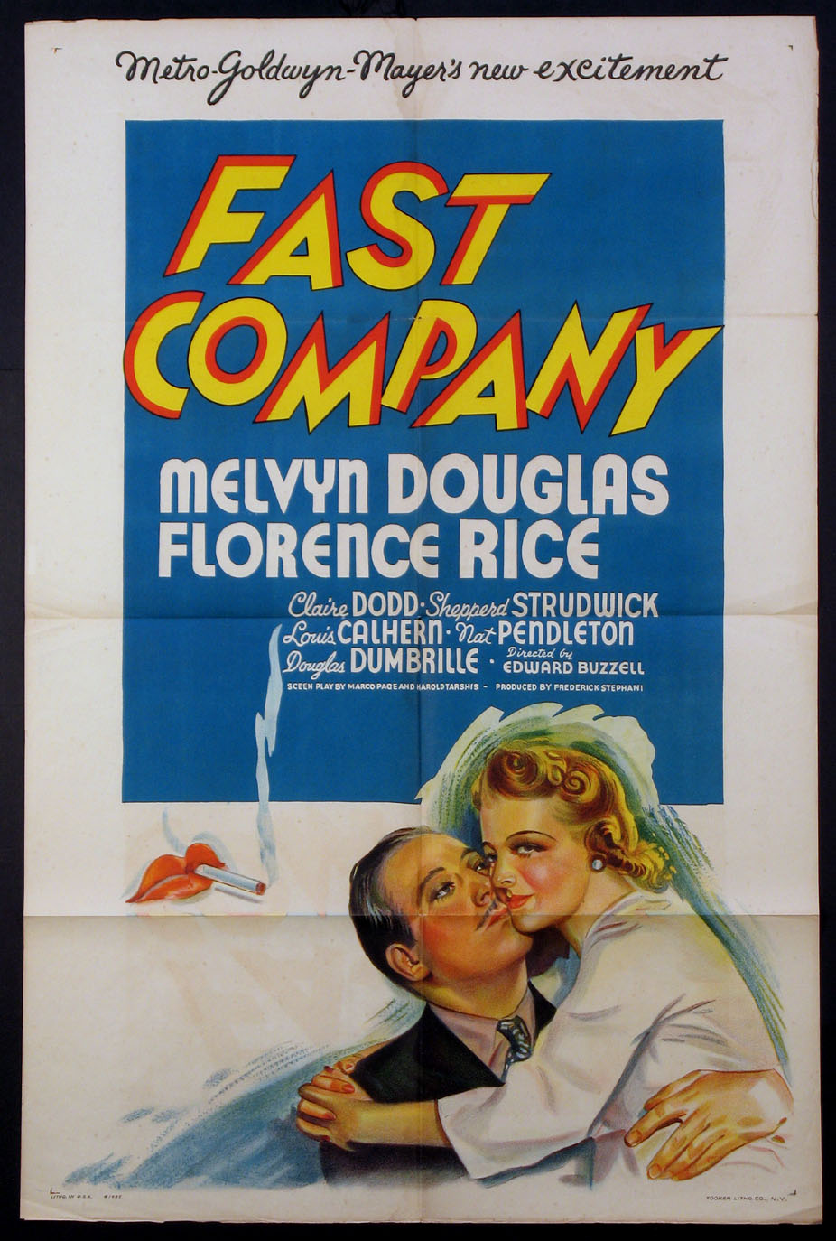 FAST COMPANY @ FilmPosters.com