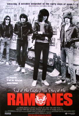 END OF THE CENTURY: THE STORY OF THE RAMONES @ FilmPosters.com