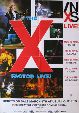 INXS: THE X FACTOR LIVE @ FilmPosters.com