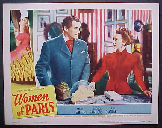 WOMEN OF PARIS (Private Affairs of Bel Ami) @ FilmPosters.com