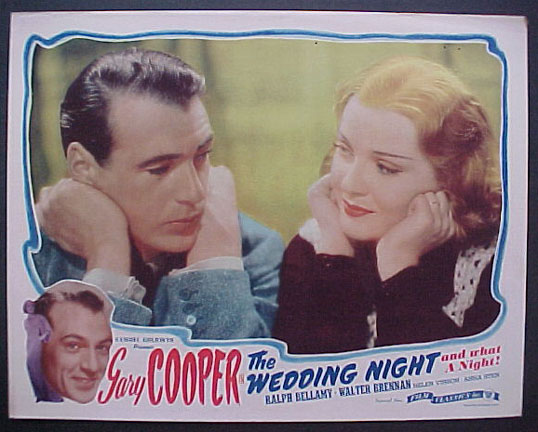 WEDDING NIGHT, THE @ FilmPosters.com