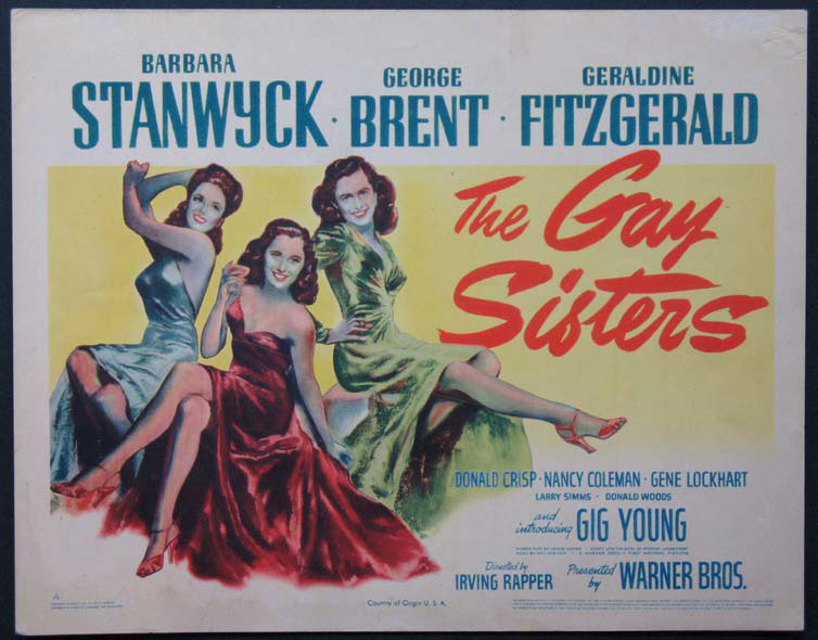 GAY SISTERS, THE @ FilmPosters.com