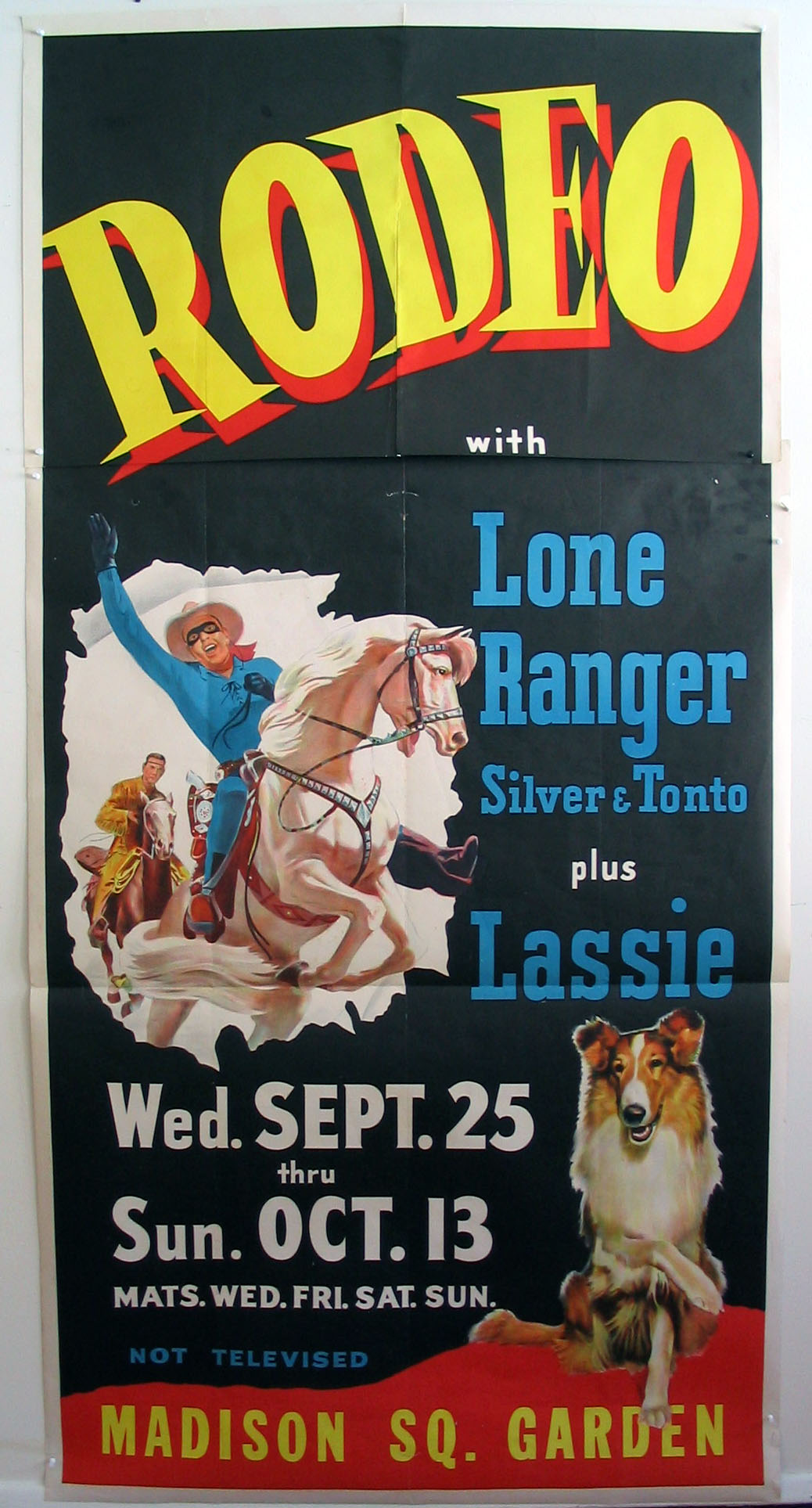 LONE RANGER RODEO WITH LASSIE @ FilmPosters.com