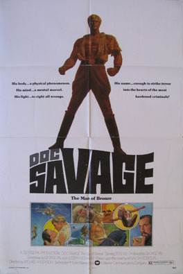 DOC SAVAGE: THE MAN OF BRONZE @ FilmPosters.com