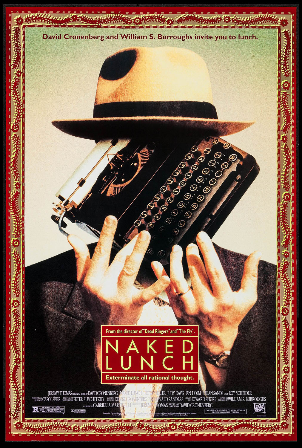 NAKED LUNCH @ FilmPosters.com