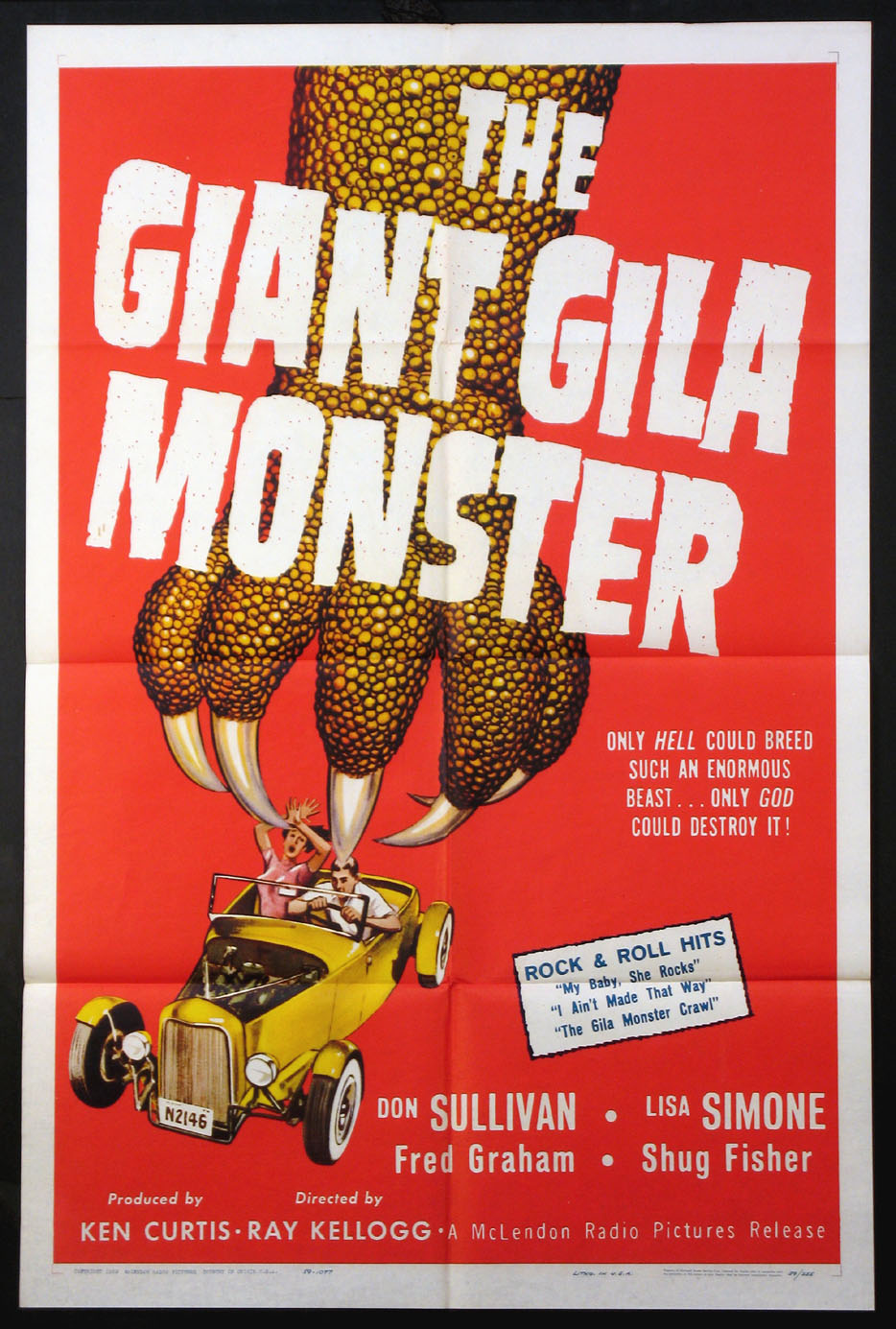 GIANT GILA MONSTER @ FilmPosters.com