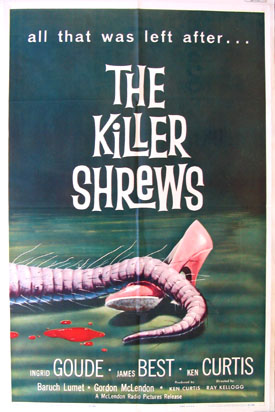 KILLER SHREWS @ FilmPosters.com