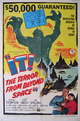 IT! THE TERROR FROM BEYOND SPACE @ FilmPosters.com