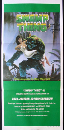SWAMP THING @ FilmPosters.com