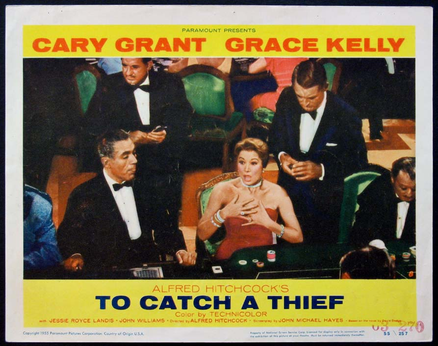 TO CATCH A THIEF @ FilmPosters.com