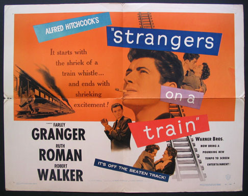 STRANGERS ON A TRAIN @ FilmPosters.com