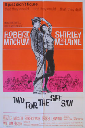 TWO FOR THE SEESAW @ FilmPosters.com