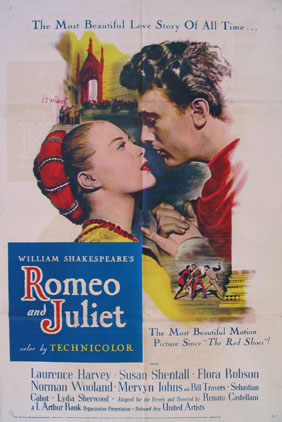 ROMEO AND JULIET @ FilmPosters.com