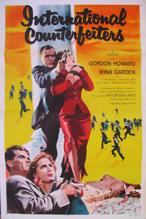 INTERNATIONAL COUNTERFEITERS @ FilmPosters.com