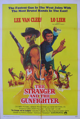 STRANGER AND THE GUNFIGHTER @ FilmPosters.com