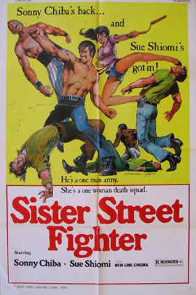 SISTER STREET FIGHTER @ FilmPosters.com