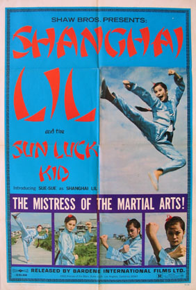 SHANGHAI LIL AND THE SUN LUCK KID @ FilmPosters.com