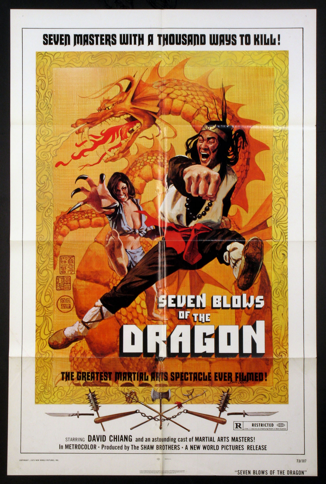 SEVEN BLOWS OF THE DRAGON @ FilmPosters.com